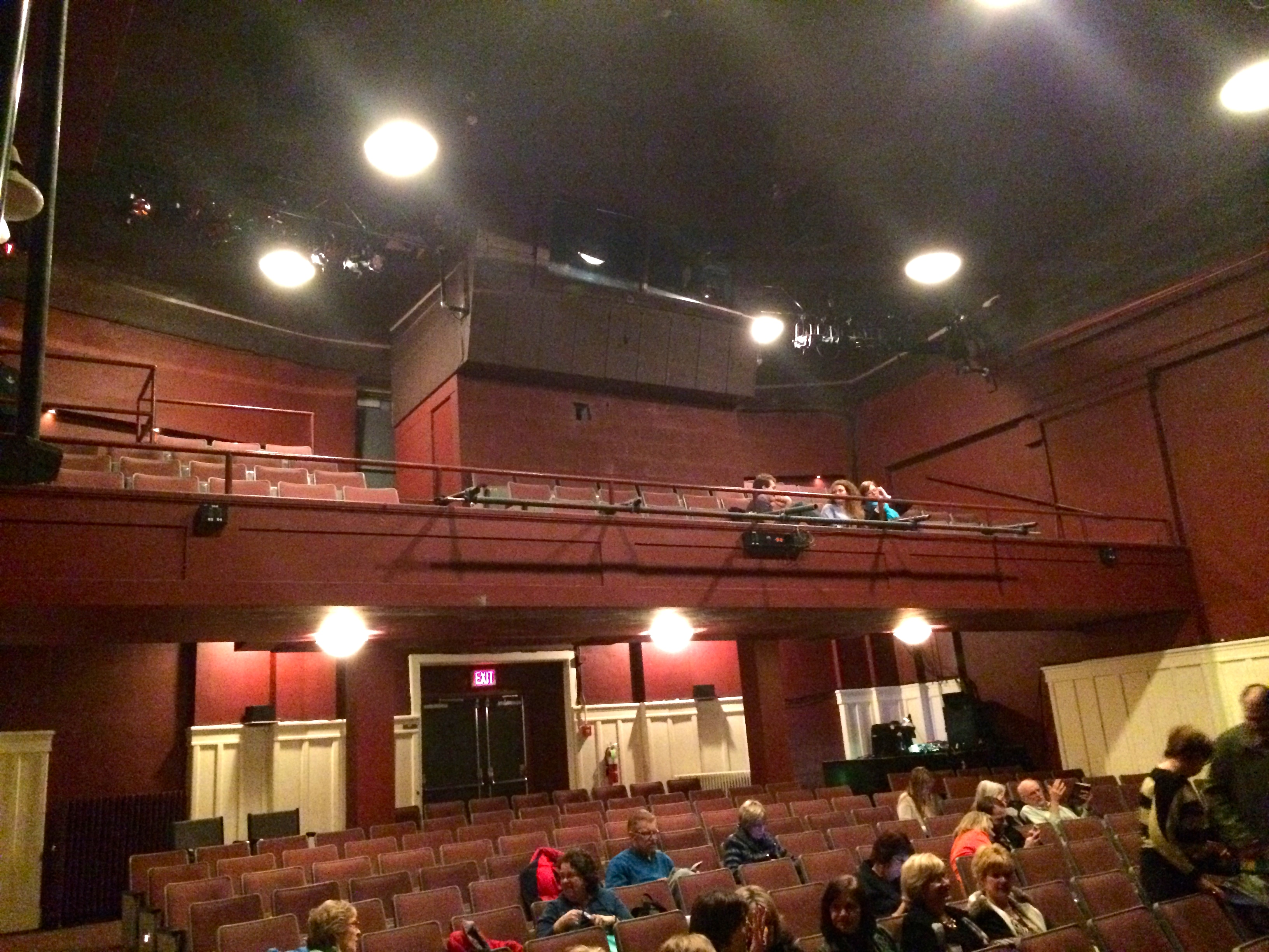 Pittsburgh Playhouse Balcony Rail