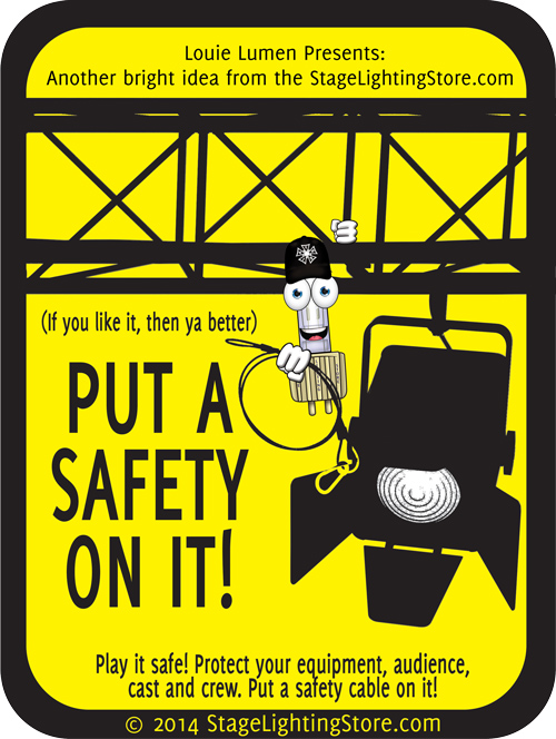 June Safety Month - Put A Safety Cable On It