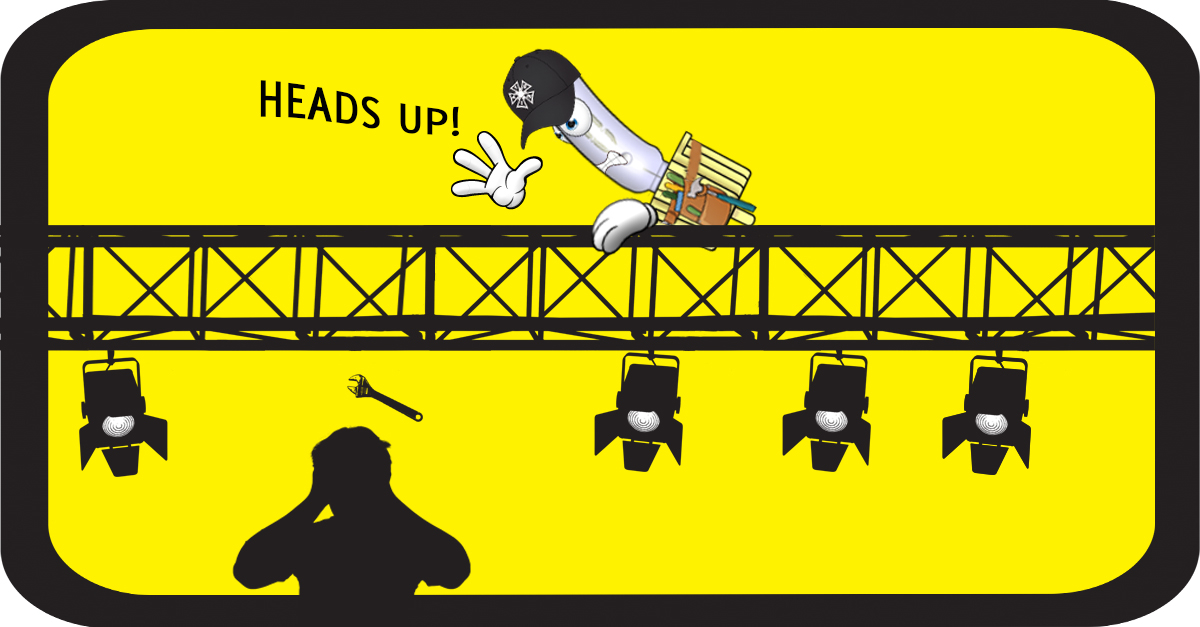 June Safety Month - Heads Up! Tie Off Your Tools